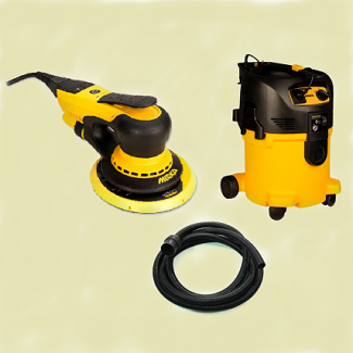 wall and wood sanding machine